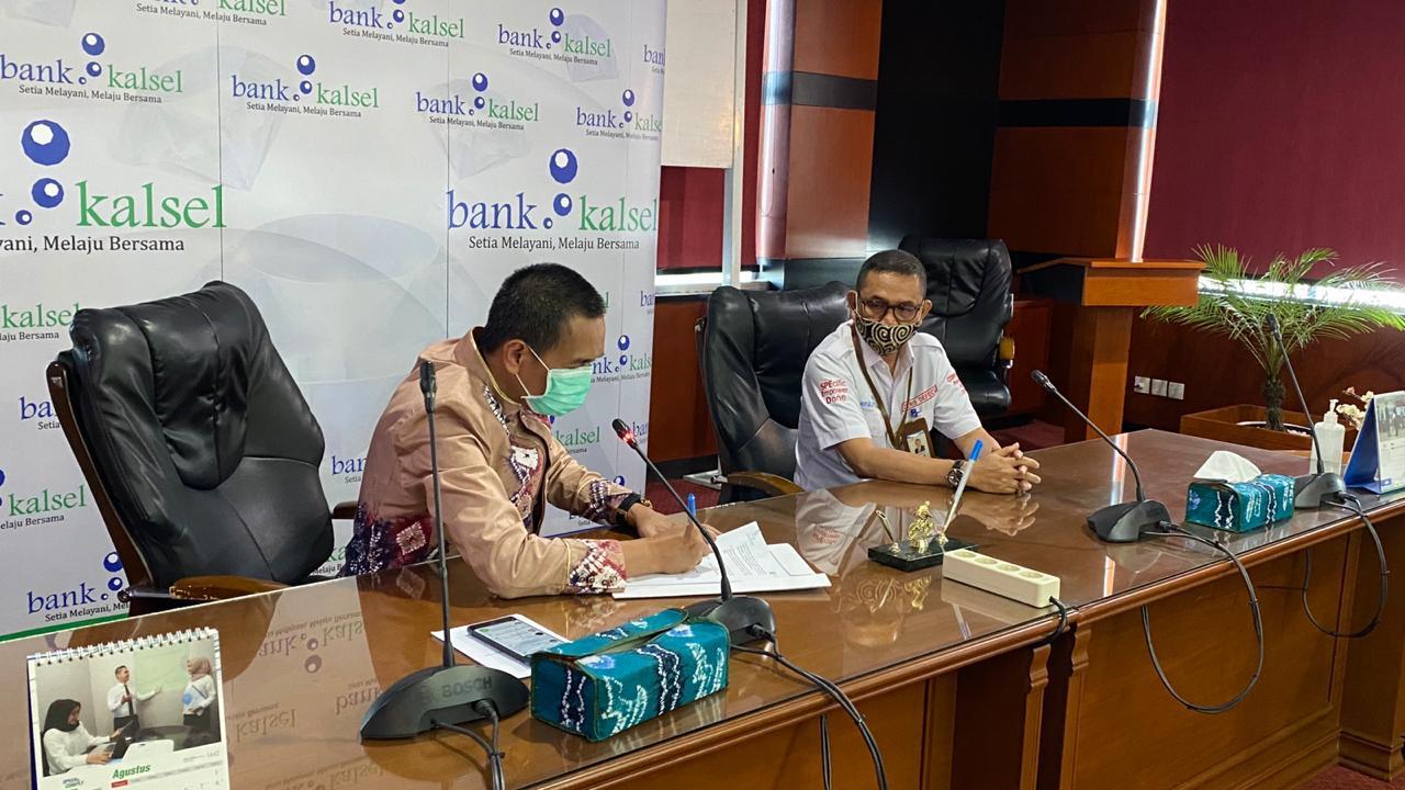EKOSISTEM DIGITAL Dikembangkan Bank Kalsel Bersama Yayasan Startup Borneo Berjaya