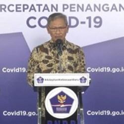 POSITIF COVID-18 di Indonesia Bertambah 1.607, Kalsel 44 Kasus