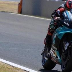 TANPA LAWAN Quartararo di MotoGP Andalusia, Dibuntuti Vinales dan Rossi