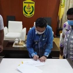 KEMBALIKAN ASET, Pemerintah Pusat kepada Pemko Banjarmasin