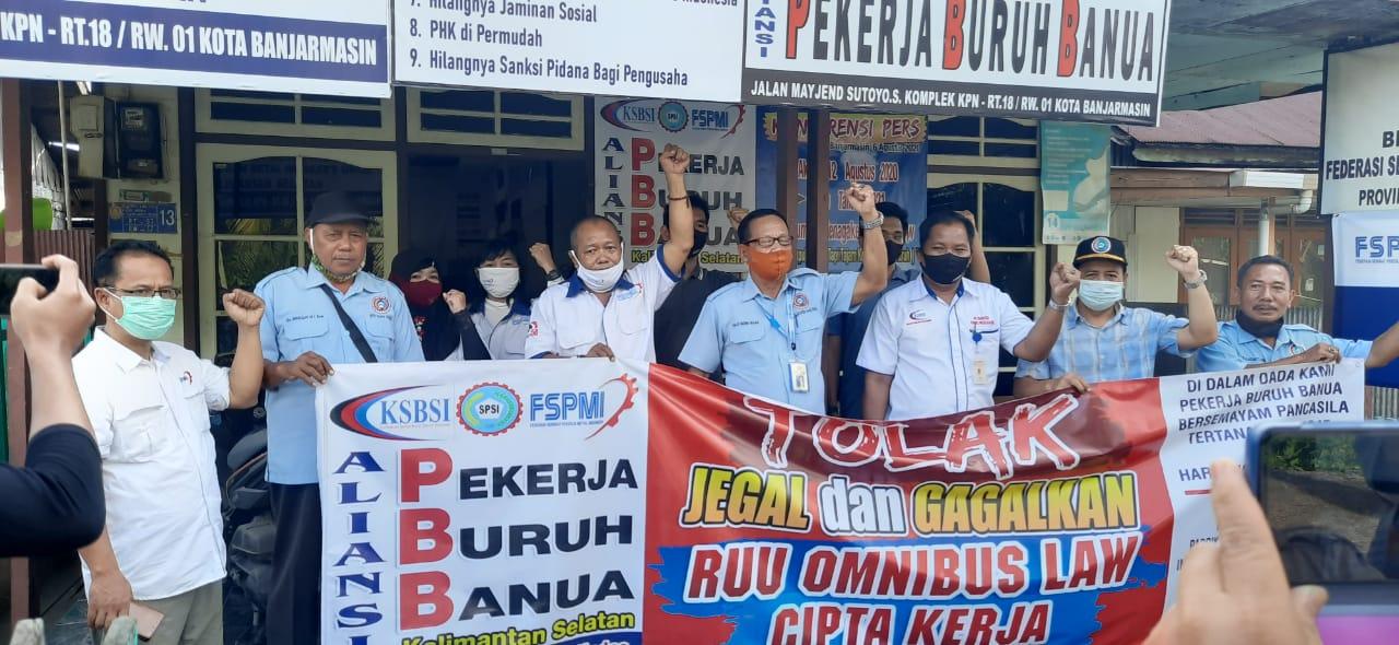SIAPKAN DEMO Besar-besaran, Aliansi Pekerja Buruh Banua
