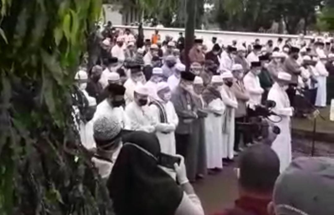 ALMARHUM Najdmi Adhani Dimakamkan di Blok E Taman Makam Bahagia