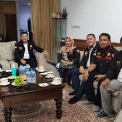 SILATURAHMI Pengurus Laskar Lambung Mangkurat-Kesultanan Banjar KEPRI kepada Sultan Banjar