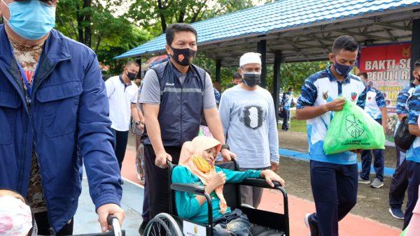 """SOLIDNYA Polri – TNI di Hari Bhakti AU Ke-73 Usung """"Peduli Rakyat Banua"""""""