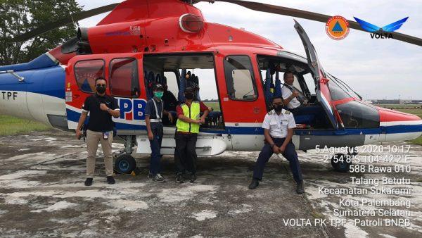BNPB Kembali Bantu Helikopter untuk Satgas Udara Kalsel