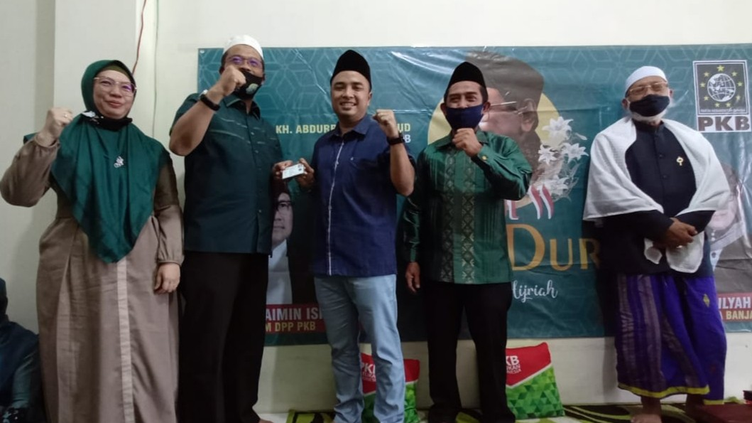 SIAP Berjuang Besarkan Partainya, Arifin Resmi Jadi Kader PKB