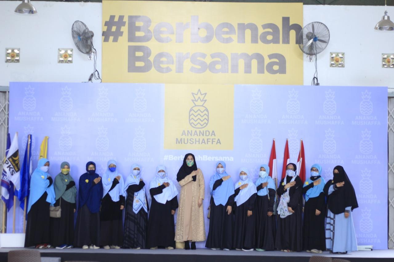 SIAP Perempuan PKS Menangkan Hj Ananda – H Mushaffa Zakir di Pilwali Kota Banjarmasin