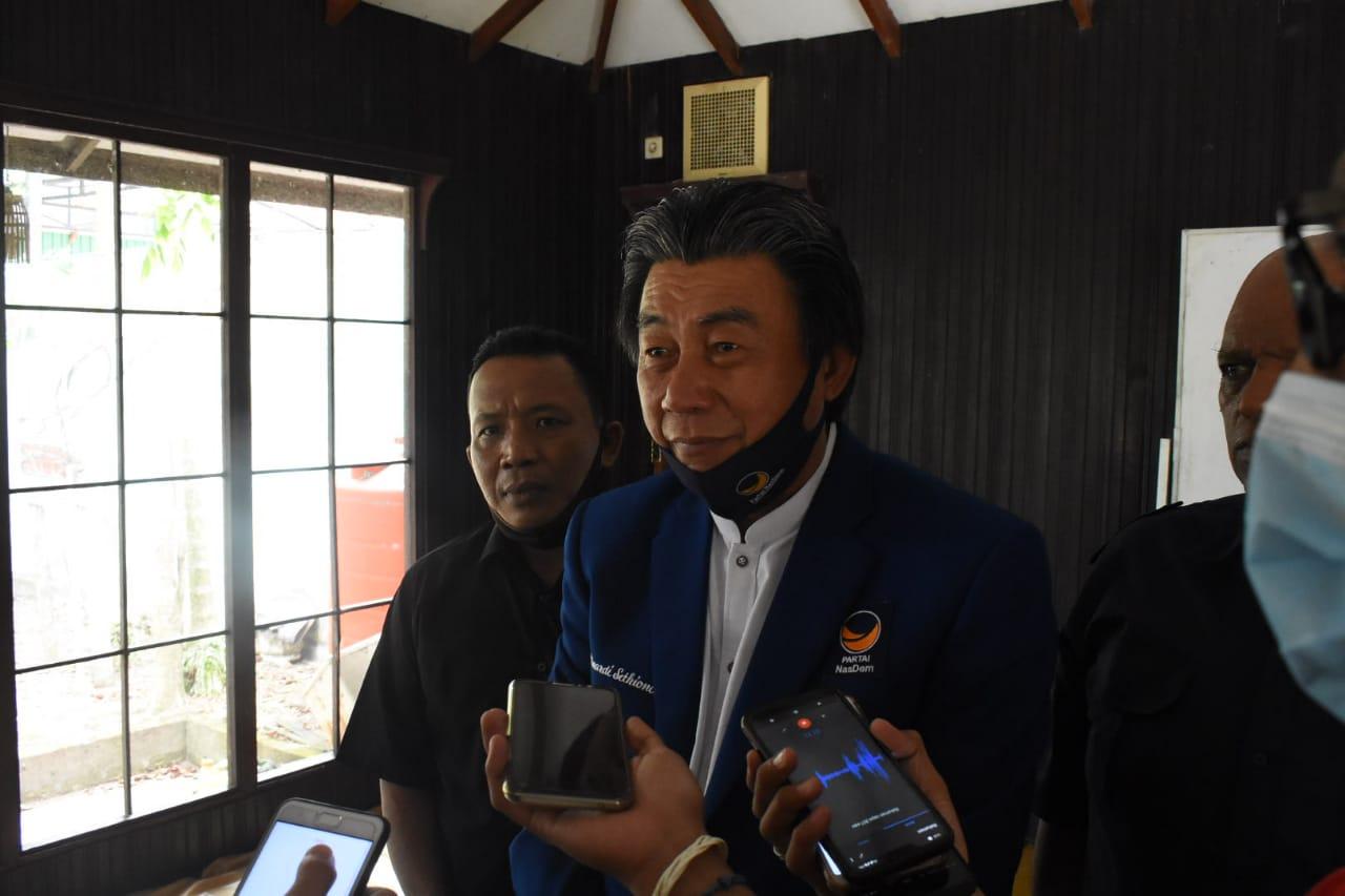 DPD NASDEM Berganti, Winardi Targetkan Fraksi di DPRD Banjarmasin