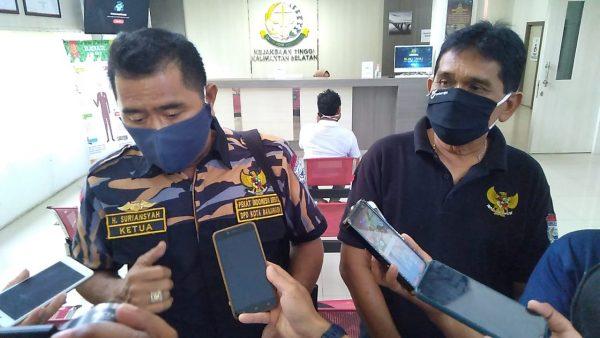 """TERUS DIPERTANYAKAN Berkas Dinilai """"Mengendap"""" dan Soal Kelanjutan Sidang Perkara H Ansharuddin"""