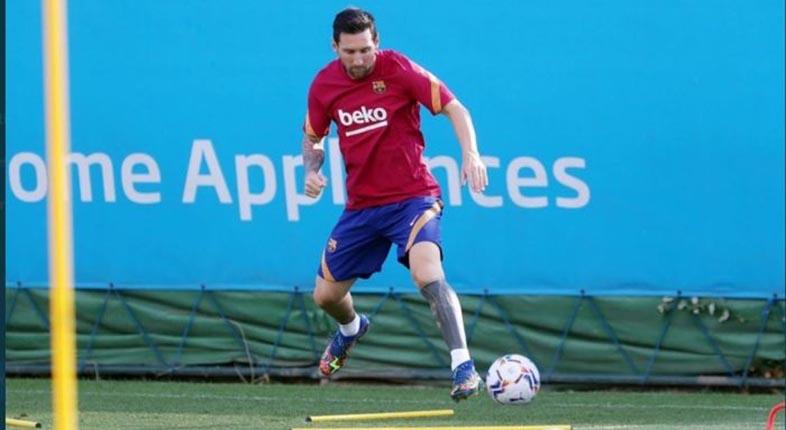 TAK BAHAGIA? Messi Kembali Latihan dengan Ekspresi Datar