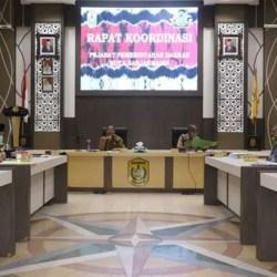 GELAR Rapat Besar SKPD di Hari Pertama Hermansyah Jabat Plt