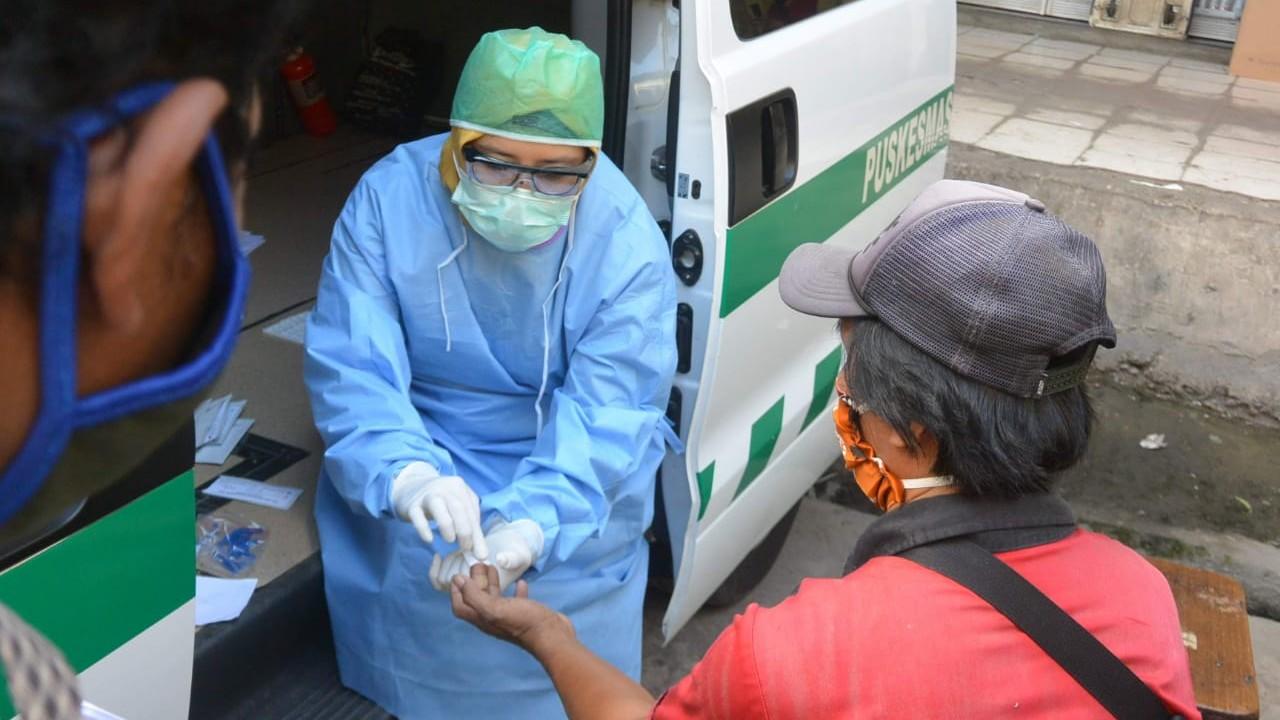 KASUS BARU Virus Corona di Indonesia 3.222, Kalsel 2
