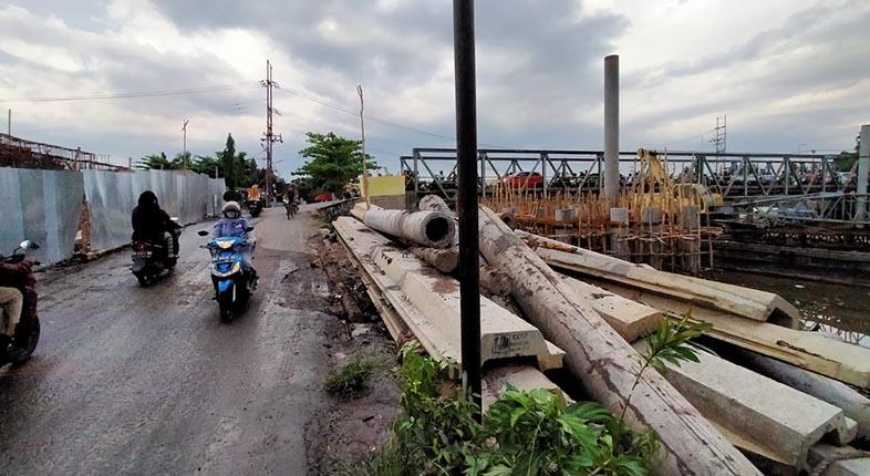 PEMBANGUNAN Jembatan HKSN I Dilanjutkan Setelah Sempat Terhenti