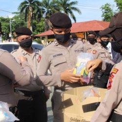 AMANKAN Tahapan Pilkada, Personel Polresta Banjarmasin Diberi APD