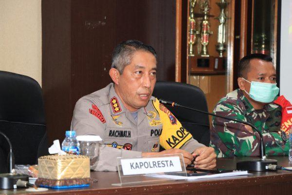 DISIGAKAN Polresta Banjarmasin Personel di Titik Keramaian Jelang Liburan
