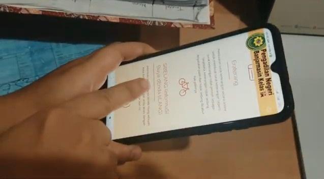 """MOVE ON """"Cari Info dengan Jarimu"""" Inilah Aplikasi Baru PN Banjarmasin"""