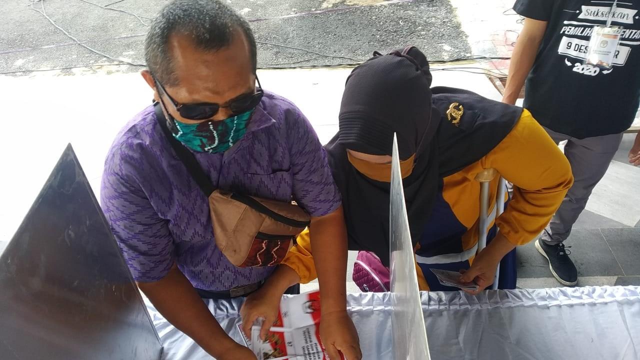 SIMULASI Pencoblosan Dikritik PPDI Kota Banjarmasin, Dinilai Belum Ramah Disabilitas
