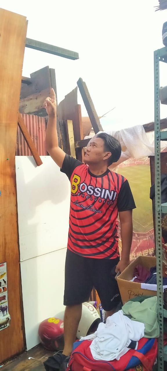 DISAPU Puting Beliung Sejumlah Rumah, Termasuk Milik Pelatih Futsal