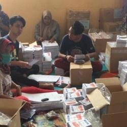 PASTIKAN DIBAKAR, Ratusan Lembar Surat Suara Pilwali yang Rusak dan Kelebihan