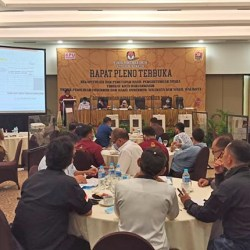 DIBUKA 3 Hari Masa Sanggah oleh KPU Kota Banjarmasin Usai Rapat Pleno Penghitungan Suara