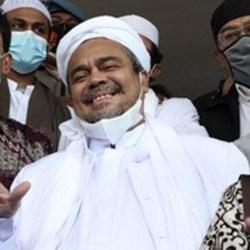 BARESKRIM TETAPKAN Habib Rizieq Tersangka Kerumunan Megamendung