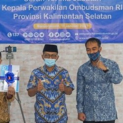 RESMI! Hadi Rahman Pegang Komando Ombudsman Kalsel