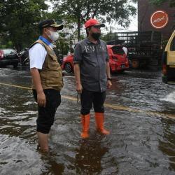 BERJUANG Sedot Air, Kolaborasi Pemko Banjarmasin Tanggulangi Banjir Terus Berlanjut