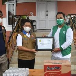 RATUSAN PAKET Sembako Disalurkan Grab untuk Bantu Korban Banjir Kalsel