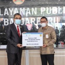 DUKUNG MAL Pelayanan Publik, Bank Kalsel Teken MoU dengan Pemko Banjarbaru