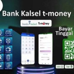 LUNCURKAN T-MONEY, Bank Kalsel Mudahkan Pelayanan