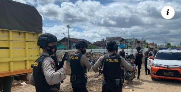 TON TANGKAL Polresta Banjarmasin Lakukan Cipkon ke Ferry Alalak