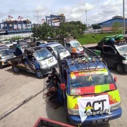 ACT KALSEL Mulai Distribusikan Logistik Kapal Kemanusiaan, Didukung Armada Pick-up