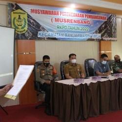 SERAP ASPIRASI Warga untuk Pembangunan Pasca Banjir di Musrenbang Banjarmasin Timur