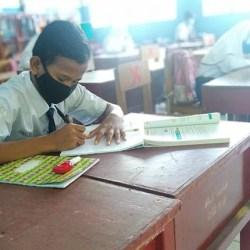 GUNAKAN Pola 50:50, Ujian Sekolah di Banjarmasin Digelar Tatap Muka
