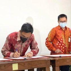 GANDENG PT Pos Indonesia, Bank Kalsel Optimal kan Pelayanan kepada Nasabah