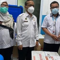 PRIORITASKAN LANSIA, Ribuan Vial Vaksin Termin Kedua di Banjarmasin