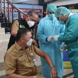 JEMPUT BOLA! Didatangi 3.000 ASN Pemko untuk Jadi Sasaran Vaksin