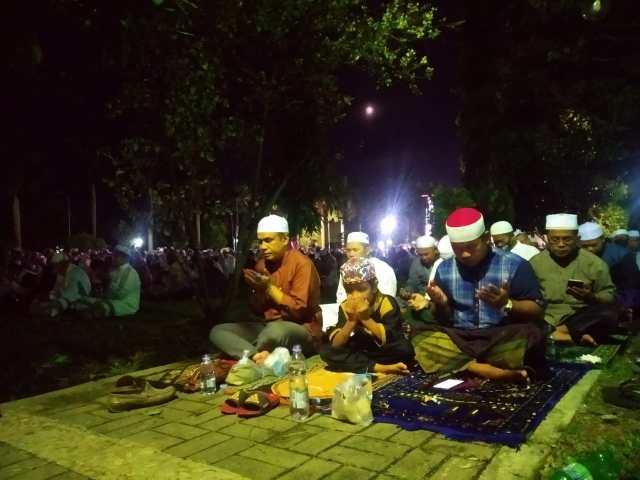 Suasana Nisfu Syaban di Mesjid Sabilal Muhtadin tahn 2021
