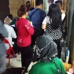 SEMRAWUT Vaksinasi di Pasar Antasari akibat Kelebihan Sasaran