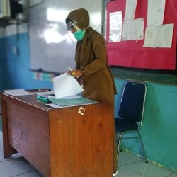 GURU di Banjarmasin Diharapkan Disdik Kebagian Vaksin Covid-19