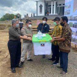 DITINJAU Pelaksanaan Rehab DAS di Kawasan Bukit Batu Sungai Luar