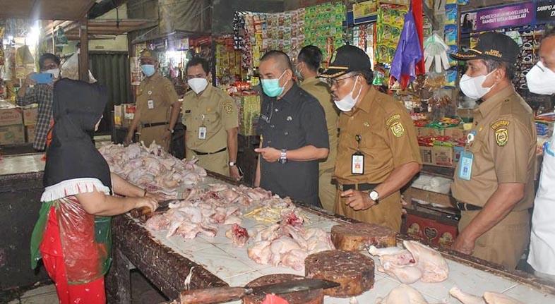 STABIL Harga Bahan Pokok Jelang Ramadhan 1443 H di Banjarmasin