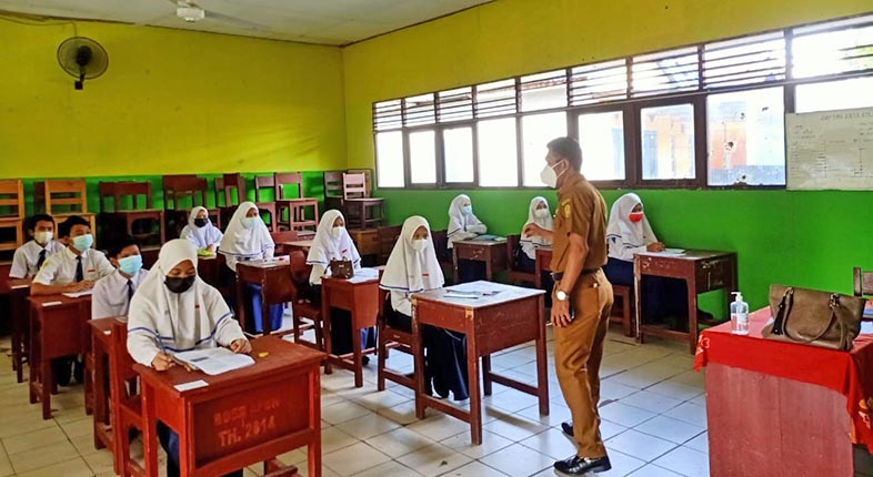 SEMUA GURU di Banjarmasin Bakal Divaksin, Optimis Gelar PTM di Juli