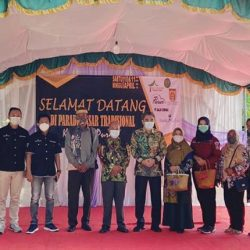 PARADE PASAR Tradisional Kampung Purun, Walikota Banjarbaru Apresiasi Dukungan Bank Kalsel