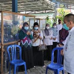 TINJAU PELAYANAN Kesehatan Banjarmasin, Pj Walikota Minta Percepat Proses Vaksinasi