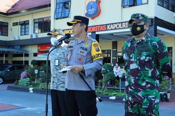 POLA PENGAMANAN PSU di Banjarmasin, Menghadirkan Personel Standby di Posko PPKM Kampung Tangguh Banua