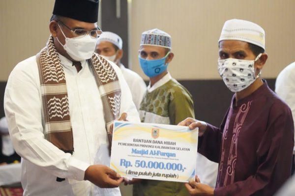 DILANJUTKAN Safari Ramadan Pj Gubernur Kalsel ke Batola, Ini yang Diserahkan