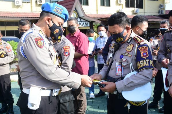 OPERASI GAKTIBPLIN Dilakukan Div Propam Polri Terhadap Jajaran Polda Kalsel