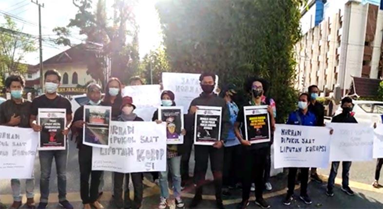 SUARAKAN KEADILAN, Tolak Kekerasan terhadap Jurnalis