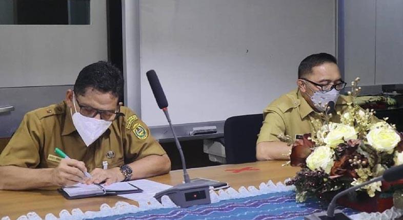 IKUTI RAPAT Pra Safari Ramadhan, Pemko Fasilitasi Temu Gubernur dengan Warga